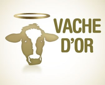 Logo trophée vaches d'or